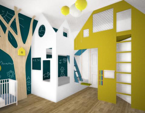 Jarná detská izba